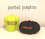 halloween painted kids diy