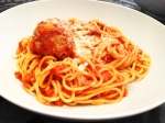 marinara sauce, red sauce, gravy, best red sauce, best spaghetti and meatballs, new jersey, army wife to suburban life, jessica matier, housewife, cook, simple meals, meatballs, pasta, italian food, 31 days, west elm knife, butcher block