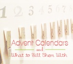 christmas advent diy