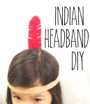 thanksgiving indian costume craft