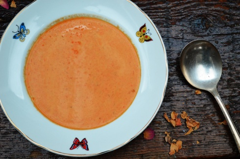calabaza soup with morrocan spices