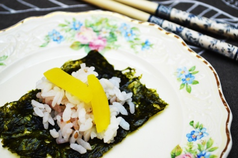 sushi at home