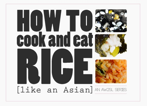 how to cook and eat asian sticky rice